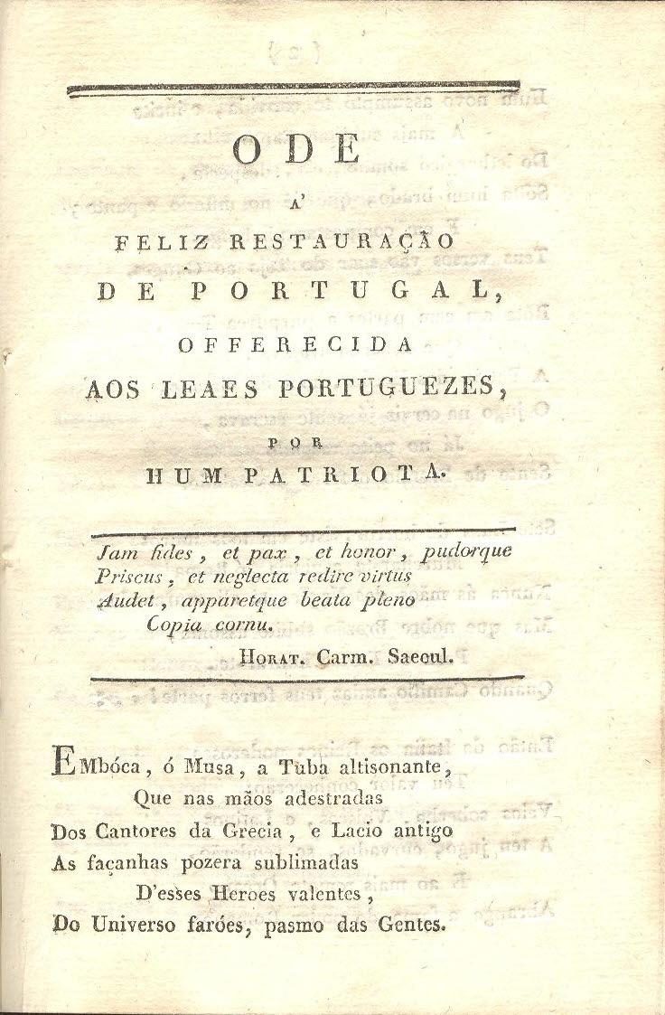 """dde65f98f94 SONETO  """"HUM DESCARTES POLÍTICO IMAGINA…"""" – EPHEMERA – Biblioteca e ..."""