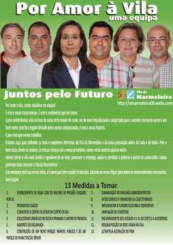 flyer da Vila da Marmeleira