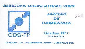 jantar2009legislativas
