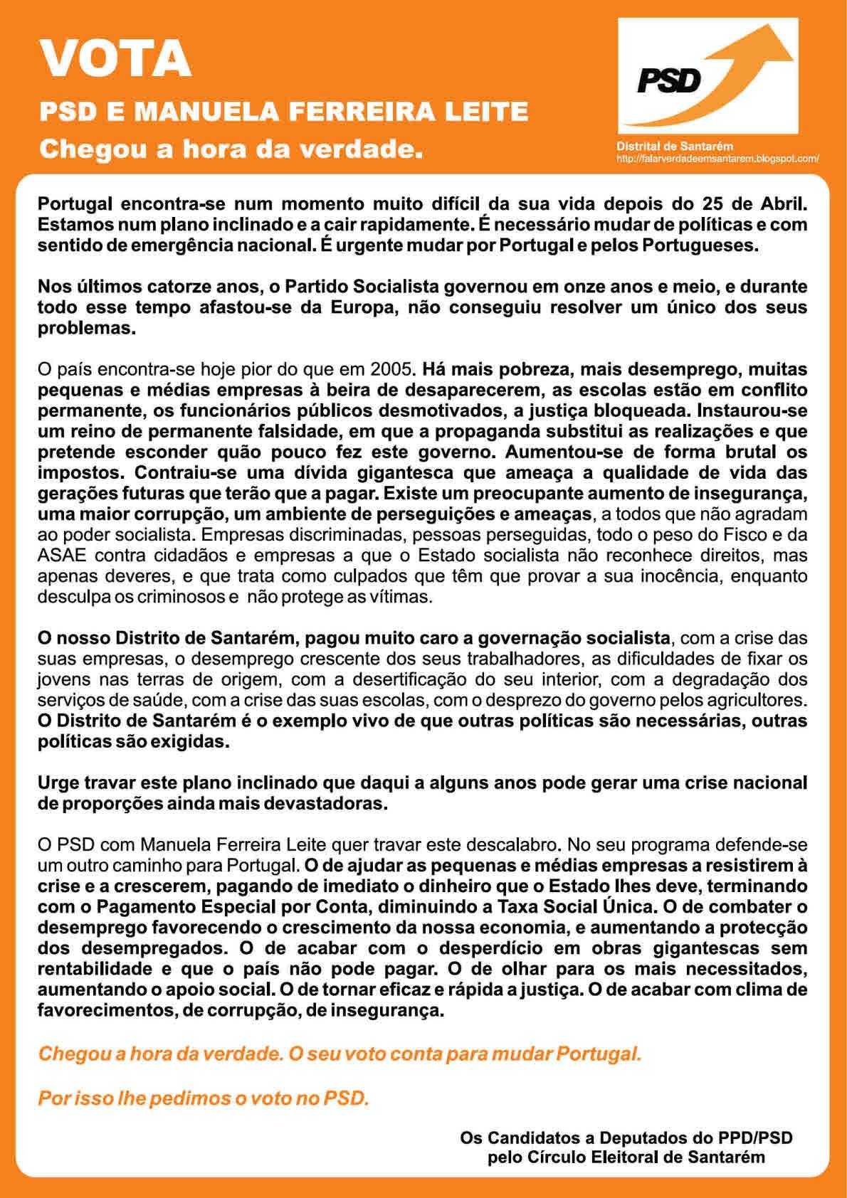 MENSAGEM CANDIDATOS PSD SANTAREM (2)