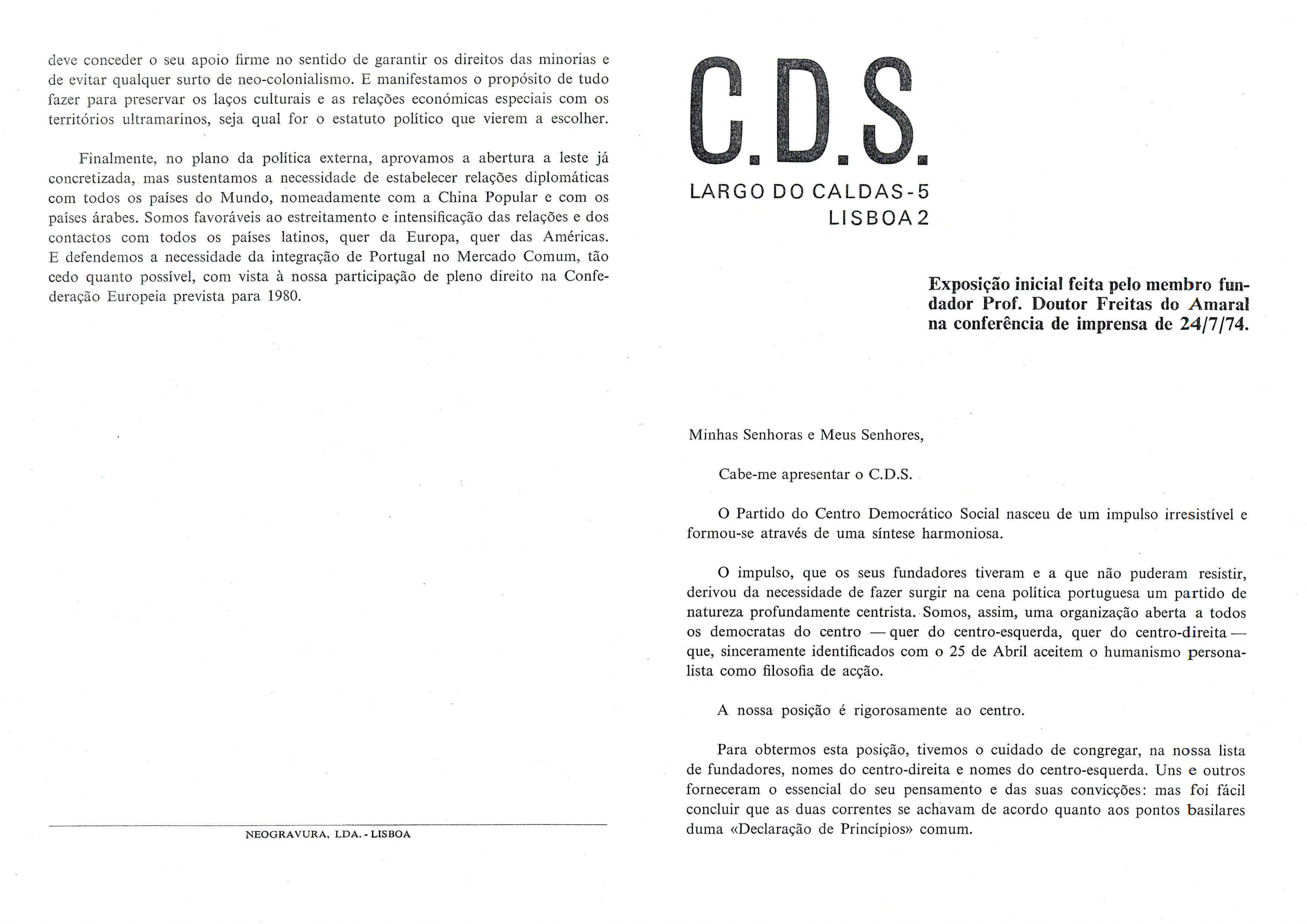 Copy of CDS- Exposição do fundador