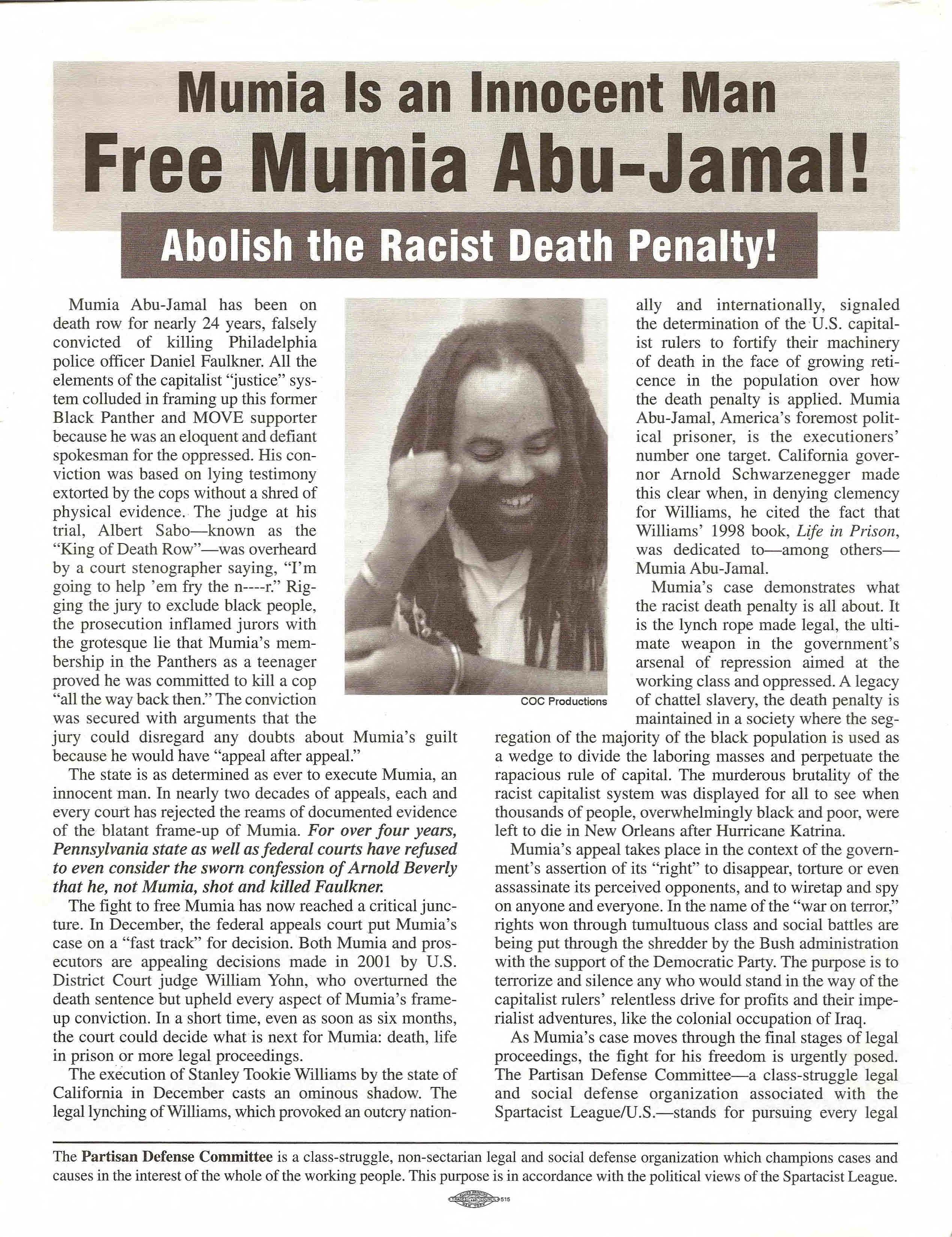 Copy of Free Mumia Abu-Jamal!