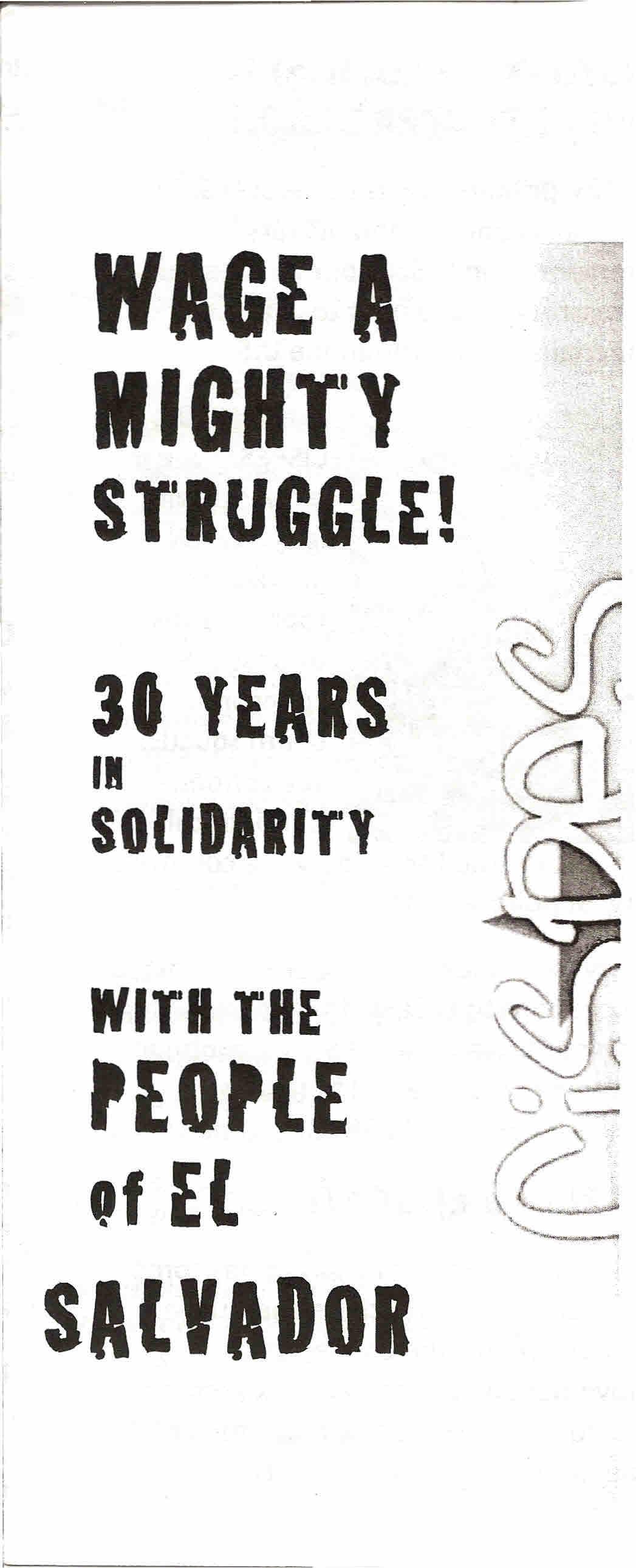 Copy of Wage a mighty struggle!