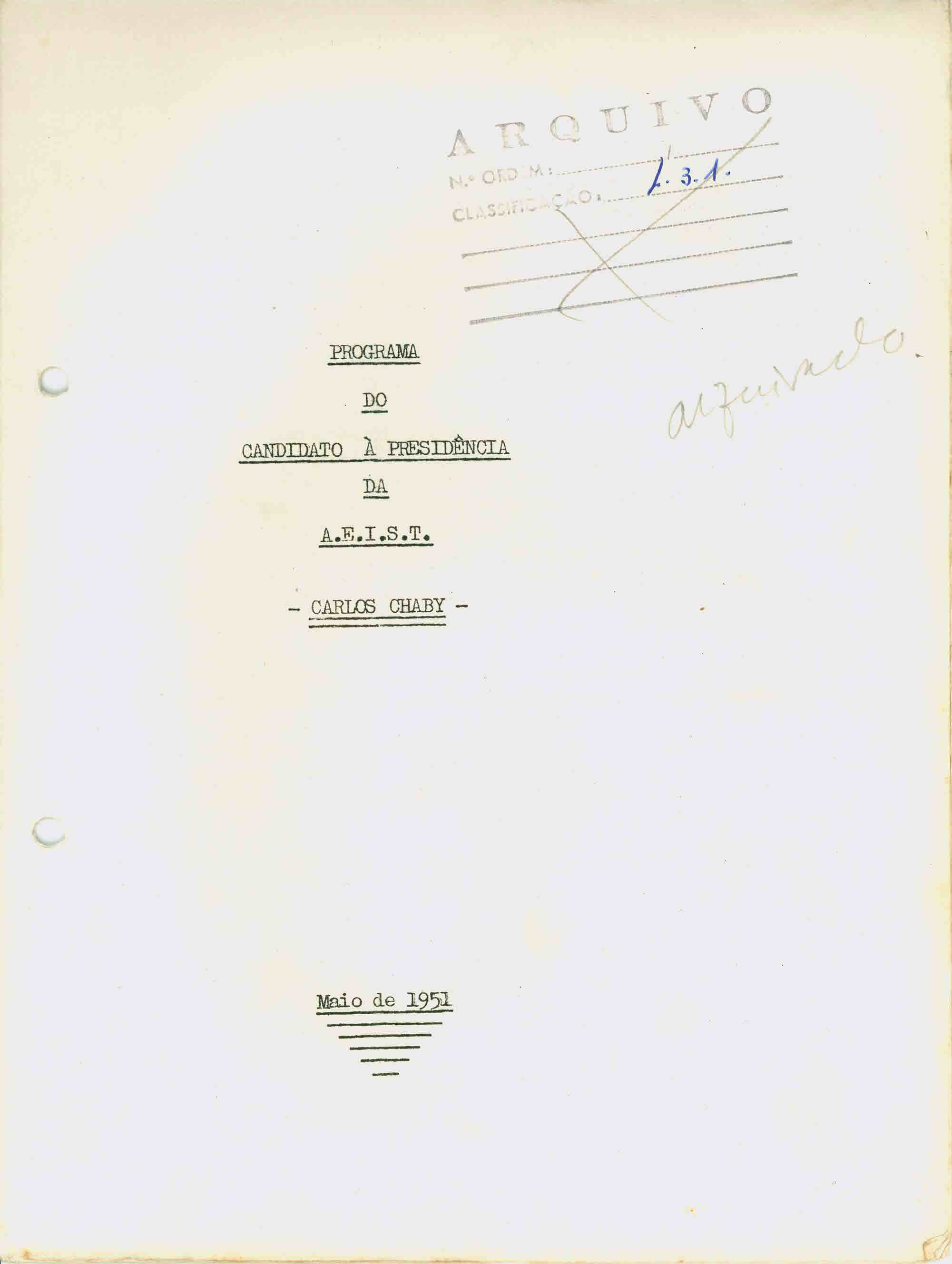 Copy of AEIST – 1951