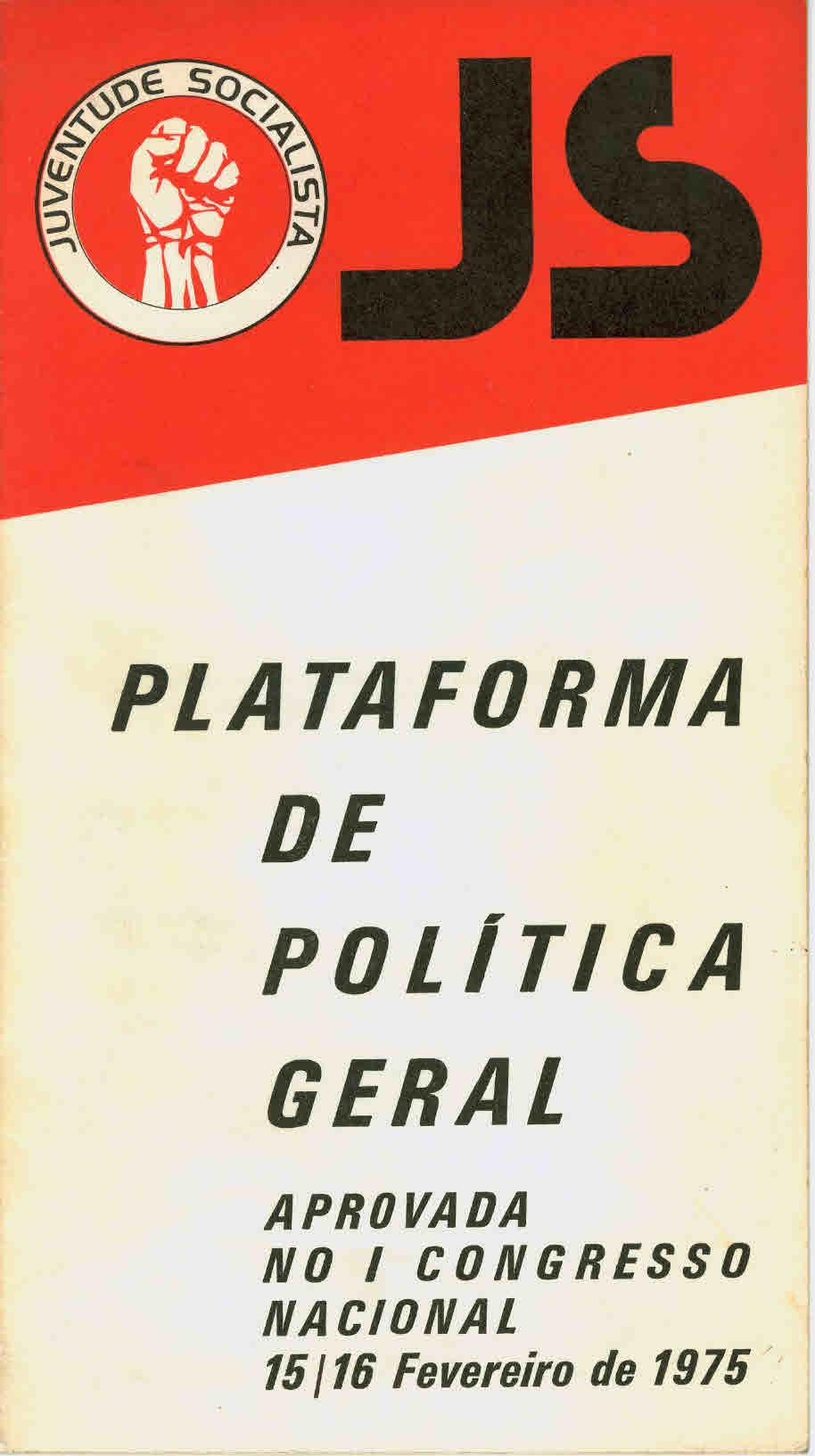 Copy of JS – Plataforma de política geral