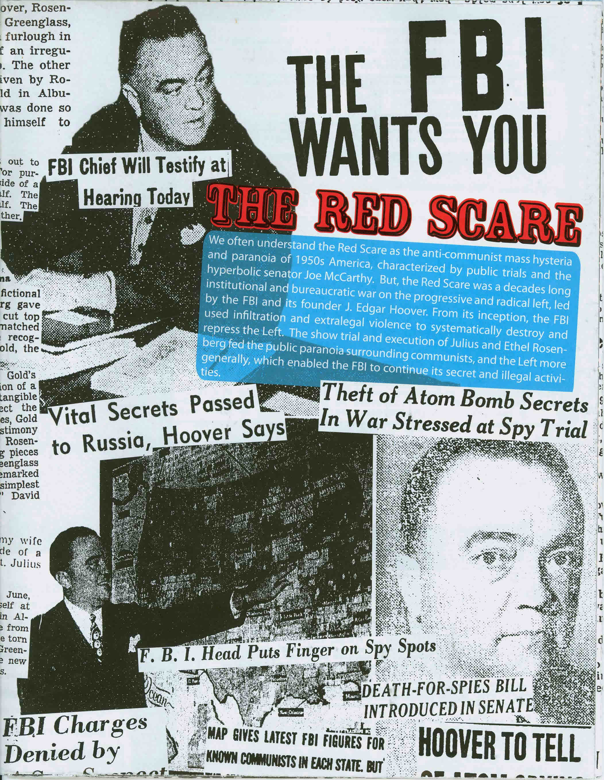 Usa Red Scare The Fbi Wants You The Red Scare