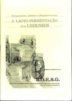 boesg, compreender praticar e alimentar-se com a lacto fermentação de legumes