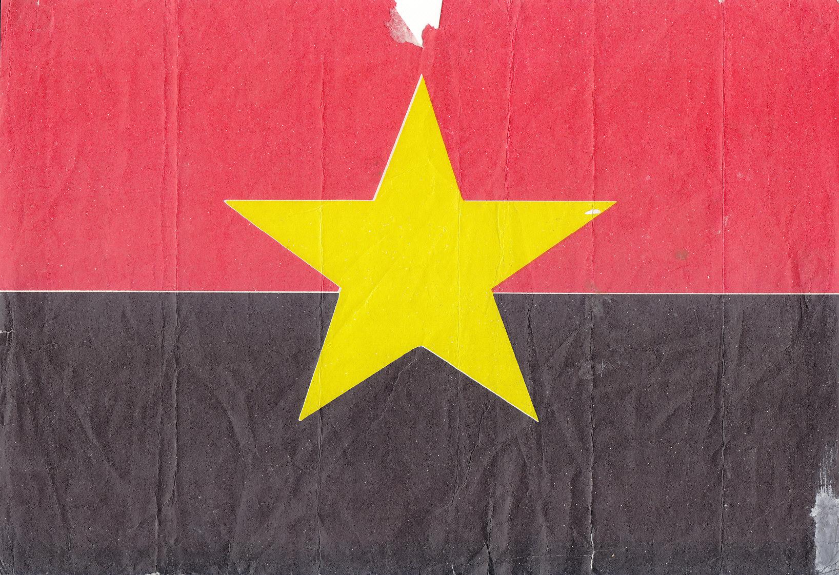 MPLA_bandeira_papel_1974