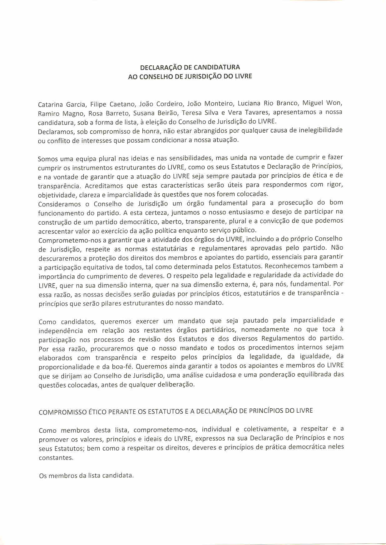LIVRE_DECLARAÇAOdeCANDIDATURAaoCONSELHOdeJURISDIÇAOdoLIVRE_LISTA_A (2)