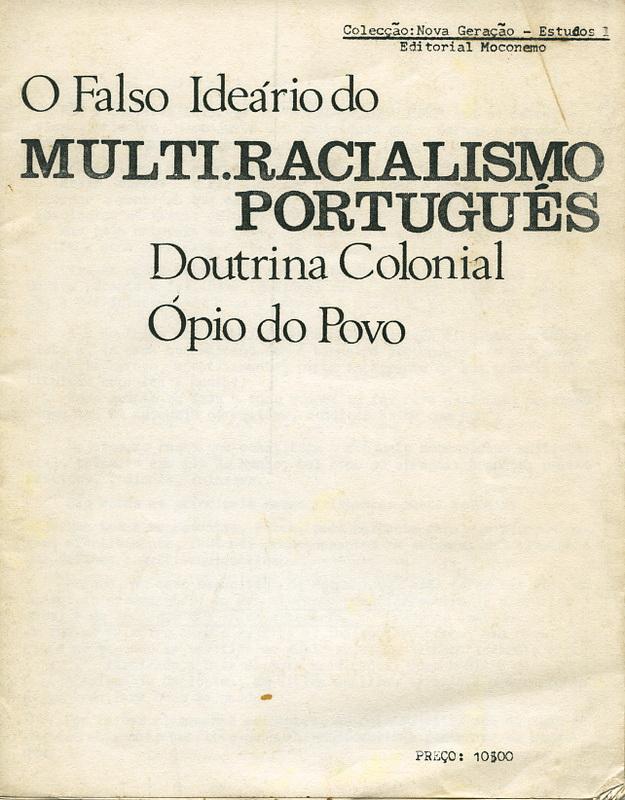 O_FALSO_IDEARIOdpMULTI_RACIALISMO_PORTUGUÊS