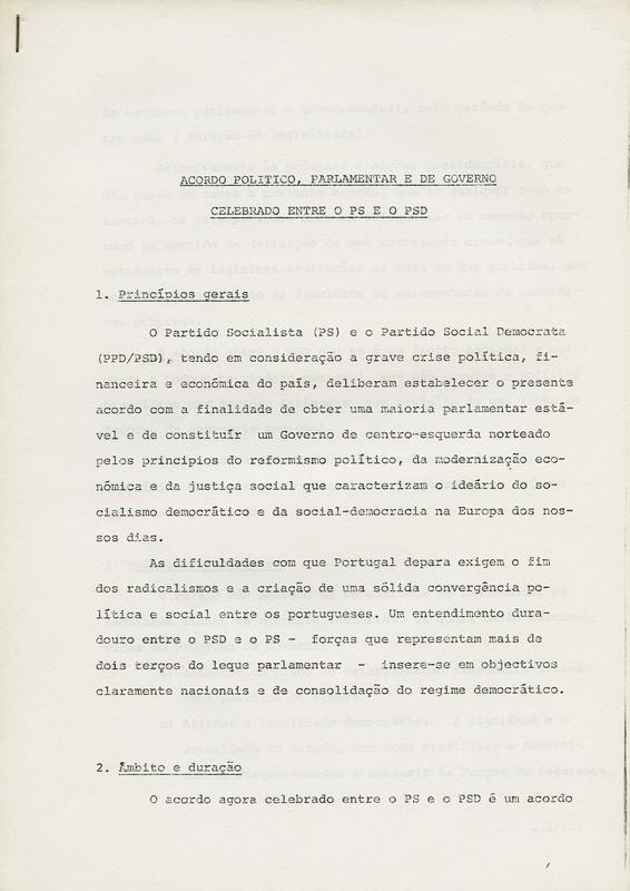 PSD_ACORDO_POLITICO_PARLAMENTARedeGOVERNO_CELEBRADO_ENTREoPSeoPSD