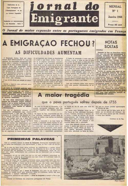"""Résultat de recherche d'images pour """"jornal do emigrante images"""""""