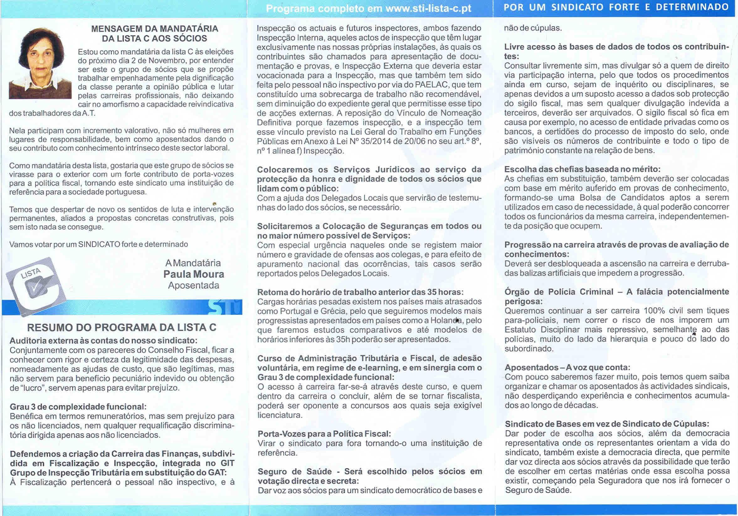 f3e8ba6dad5b8 SINDICATO DOS TRABALHADORES DOS IMPOSTOS (STI) – ELEIÇÕES (2 DE ...