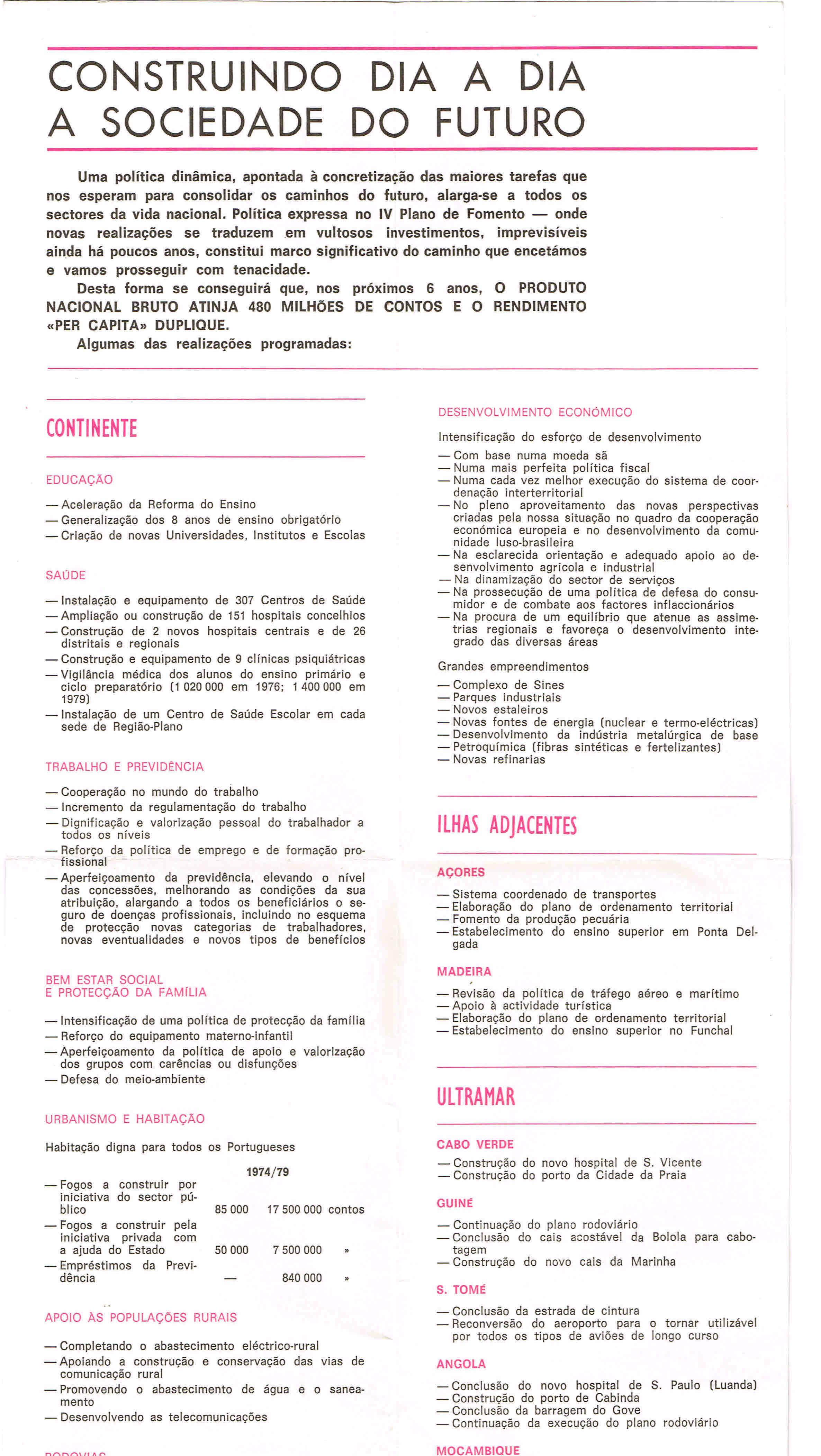b0355e1619f ELEIÇÕES LEGISLATIVAS DE 1973 – ACÇÃO NACIONAL POPULAR ...
