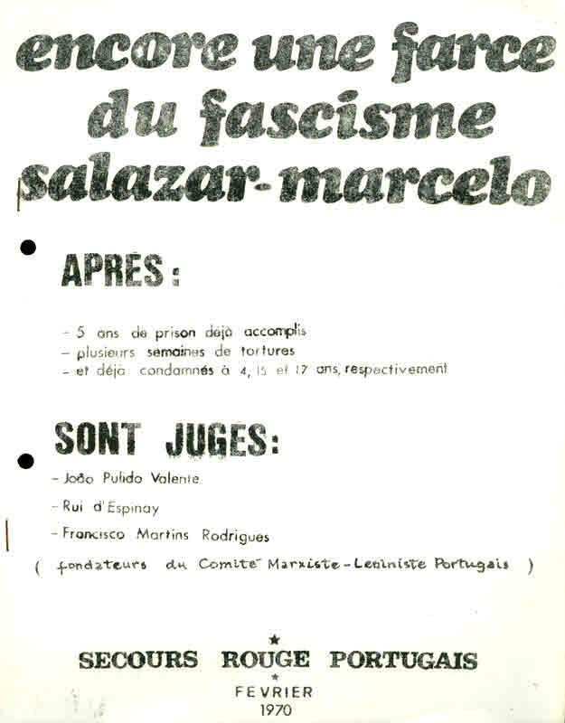 Secours rouge portugais encore une farce0001originais for Farcical etymology