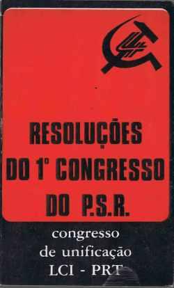 Partido socialista revolucionrio psr ephemera biblioteca e livro fandeluxe Gallery