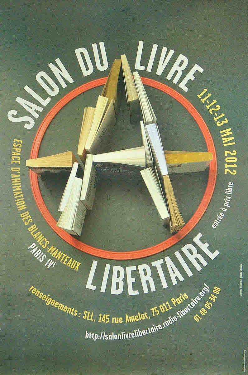 Fran a salon du livre libertaire 2012 ephemera for Salon du livre troyes