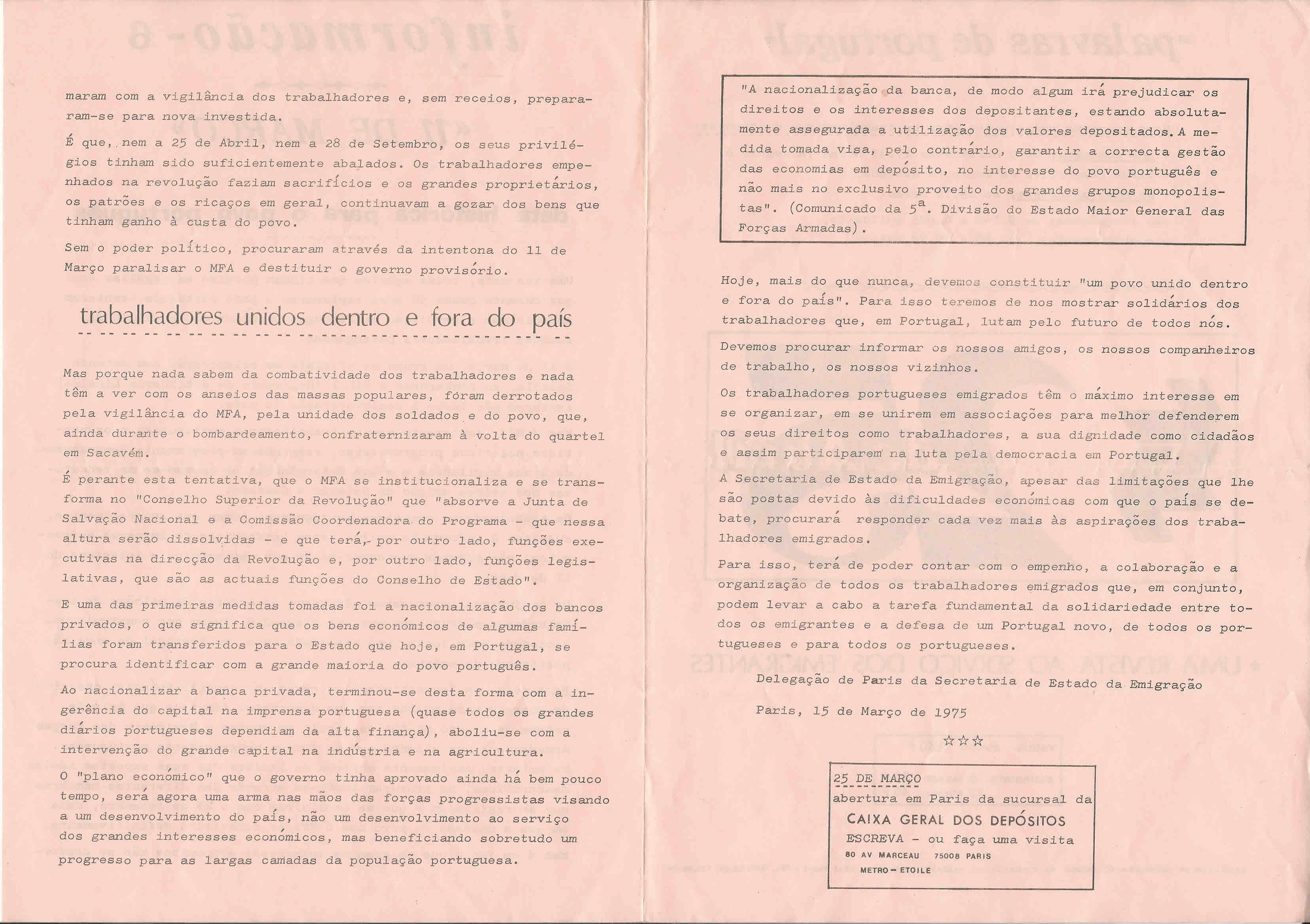 Secretaria de estado da emigrao delegao em paris informaes carregue aqui para imprimir opens in new window fandeluxe Gallery