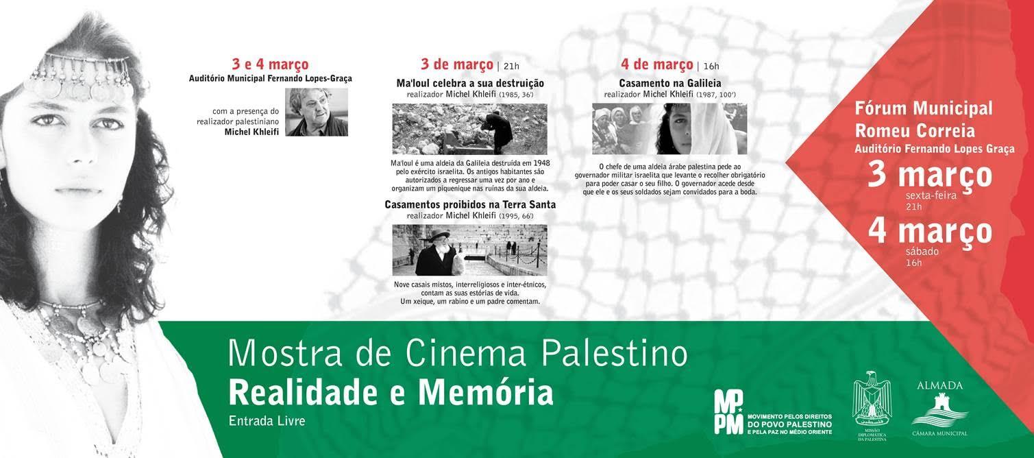 Cartaz Mostra de Cinema Almada