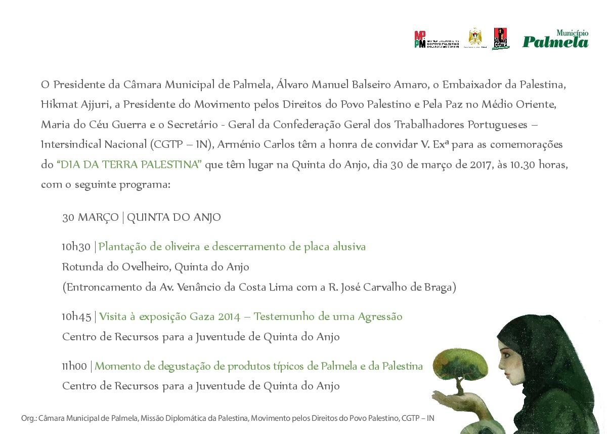 Convite Quinta do Anjo
