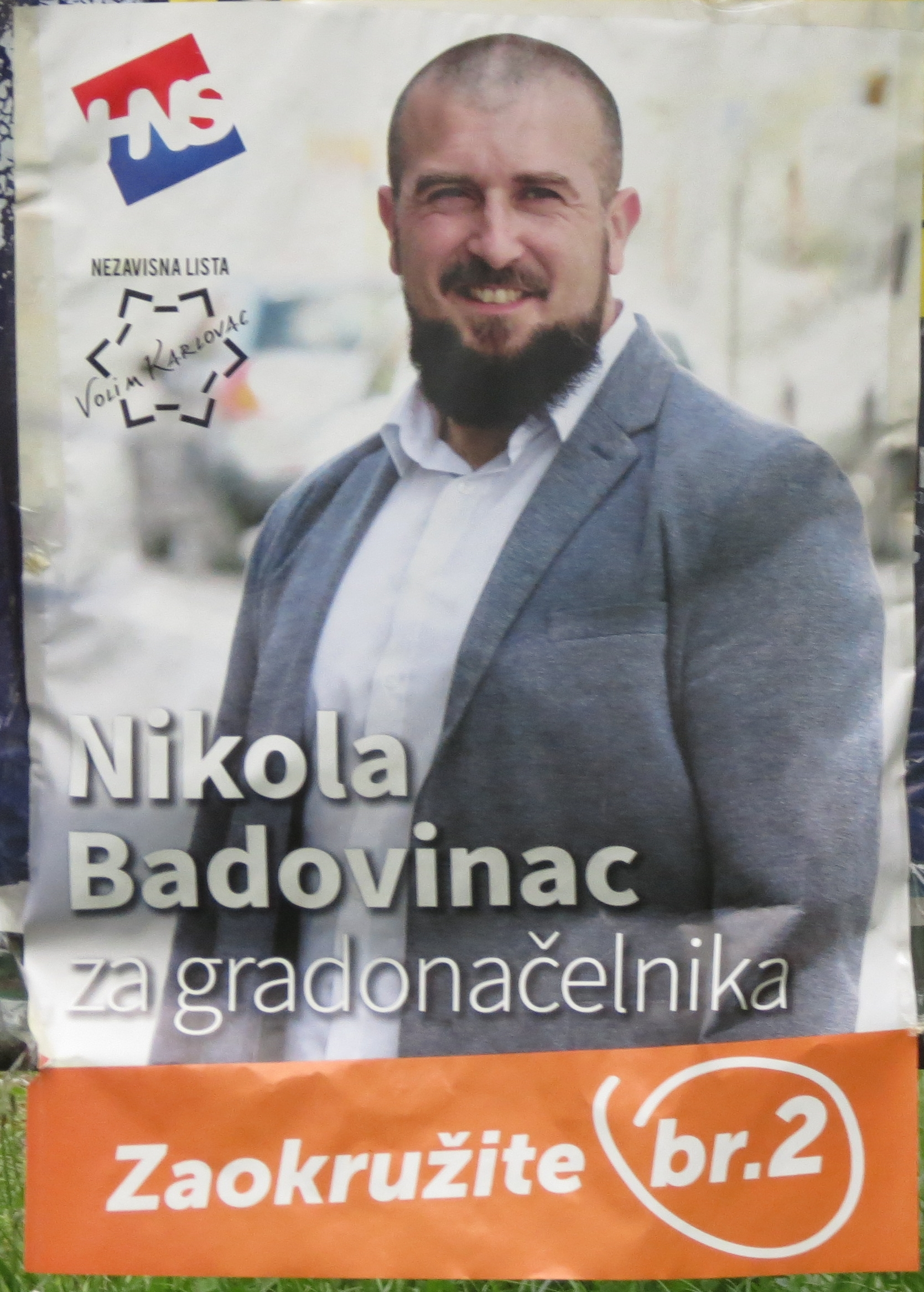 Cidade de Karlovac – Hrvatska narodna stranka (HNS – Partido Popular Croata)