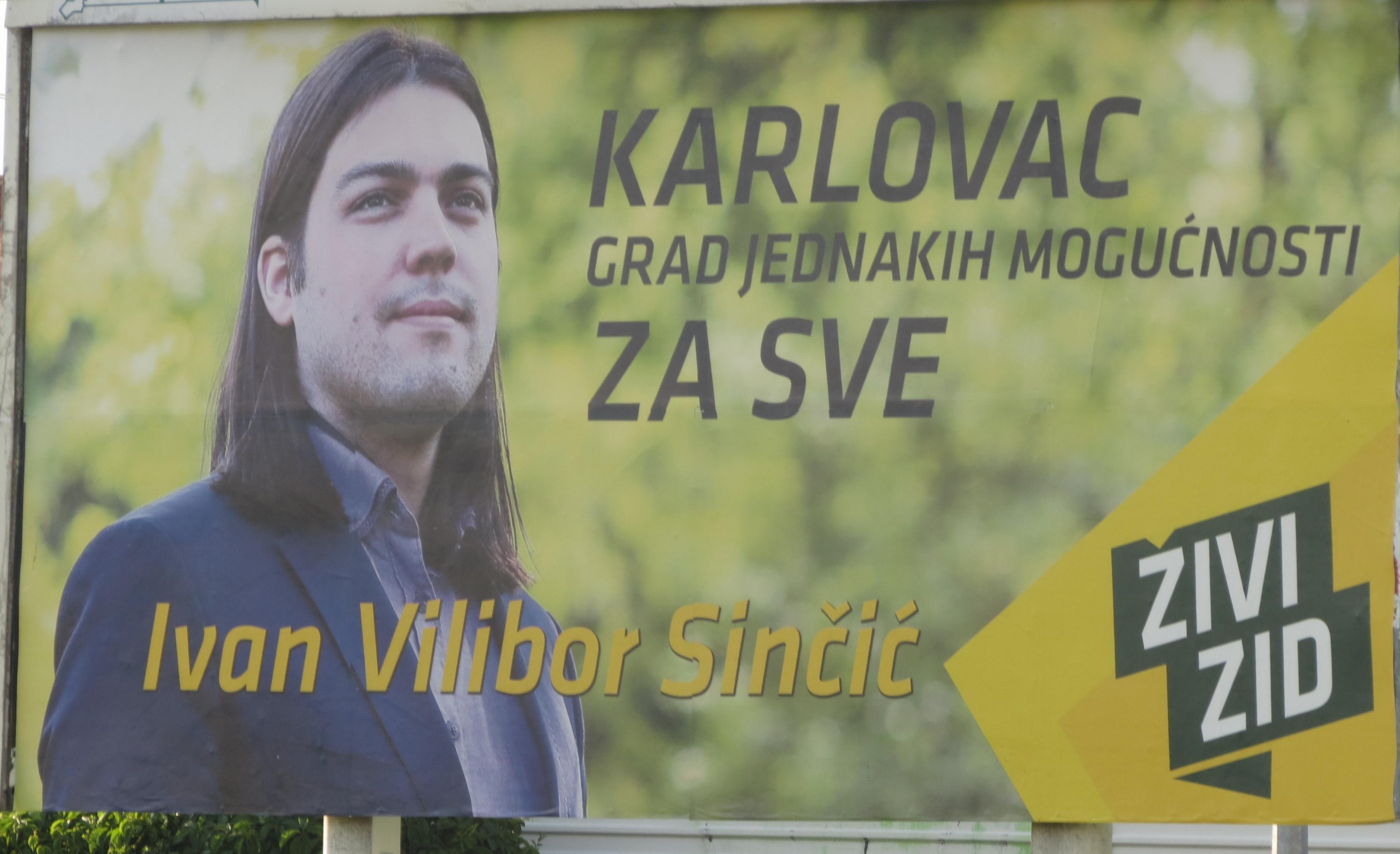 Cidade de Karlovac – Zivi Zid (Escudo Humano)